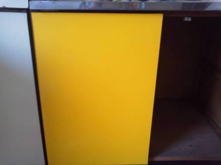 キッチンのシンクのカスタマイズ メークアップシートの貼り方完成