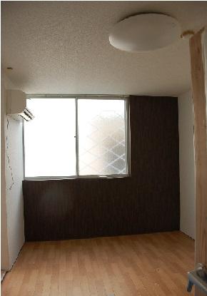 防音室アパートの居室