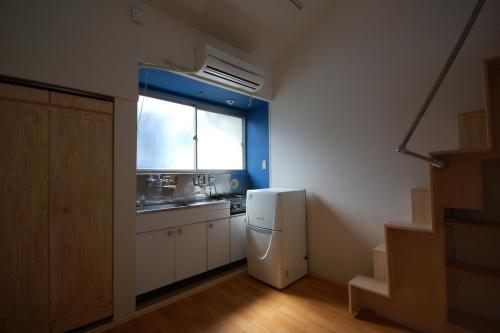 ロフト付きアパート キッチン