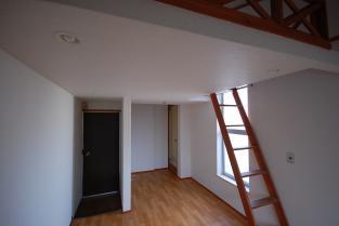 ロフト下洋室 入り口側 改造前