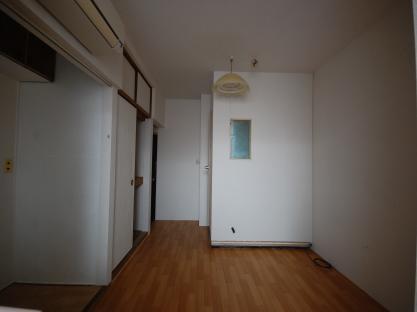 防音ブース付アパート 入り口側