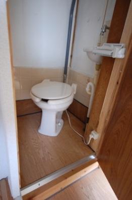 暖房便座がカスタマイズできるアパート