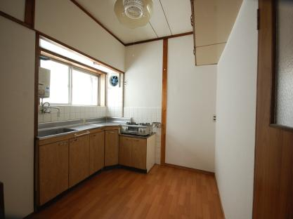 防音室付アパート キッチン