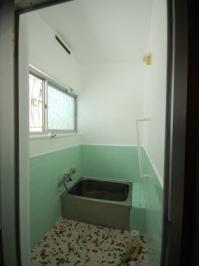 防音室付アパート シャワー付追い焚き付きバス
