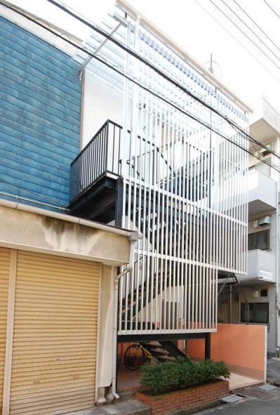 防音室マンション 階段