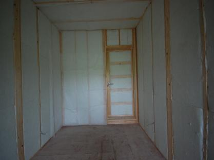 楽器が使えるお部屋 防音室ドア側