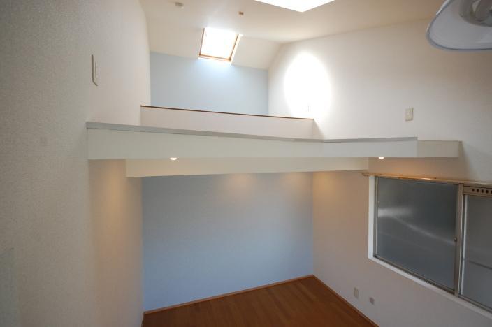 ロフト付きアパートロフト床高さ