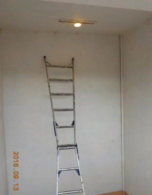 賃貸マンションの照明をLEDに交換