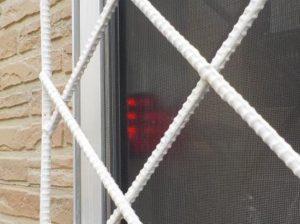 防犯報知システム 外側へサインとサイレンで報知2カ所目