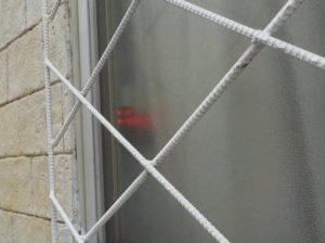 防犯報知システム 外側へサインとサイレンで報知1カ所目