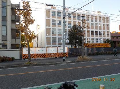 尼崎看護専門学校新校舎落成近し