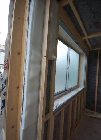 スーパーストラクチャーC仕様を組み立てる時は壁の間に吸音材を入れる