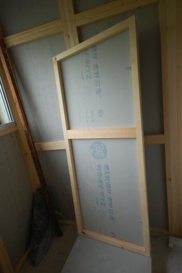 スーパーストラクチャーC仕様 パネル裏側 天井パネルですのでお部屋の形になっています