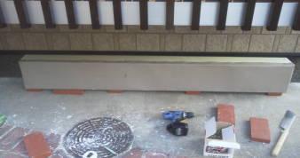 床下換気孔の防音 アルミ薄板を巻き込む