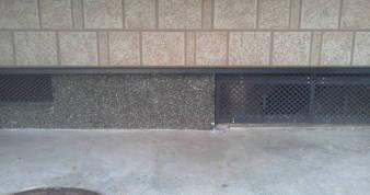 床下換気孔の防音 工事前