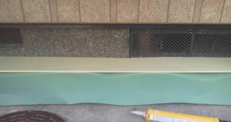 床下換気孔の防音 下の耐水石膏ボード