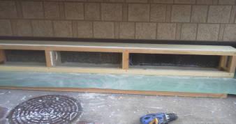床下換気孔の防音 上の耐水石膏ボード