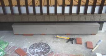 床下換気孔の防音 床下換気孔の防音 アルミで上を覆う