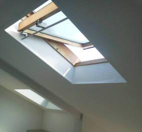 ロフト暑さ対策 天窓の開放