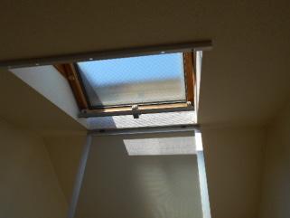 天窓の網戸 使い方天窓を開けます