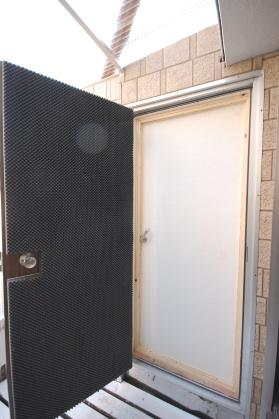 防音室付ハイツ 防音室ドア外開放