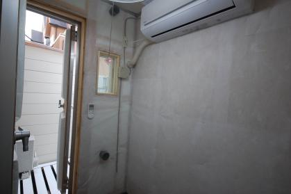 完全防音室付き防音ハイツ 防音室はエアコン付き照明・コンセント・換気扇・