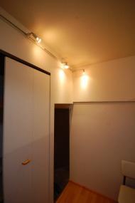 ライティングレールがカスタマイズできるアパート 例