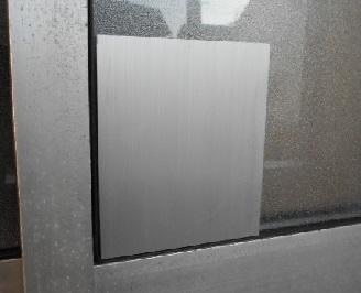 補強板の取付外側