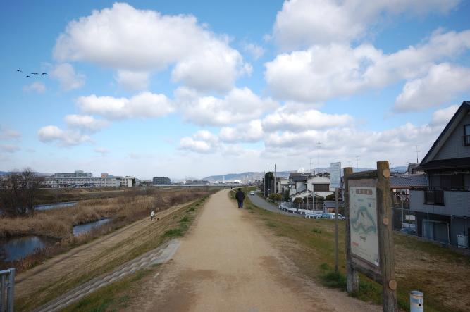 園田の遊歩道
