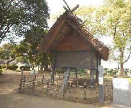 田能遺跡の高床式倉庫