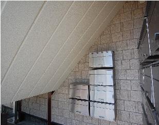 階段まわりの改装