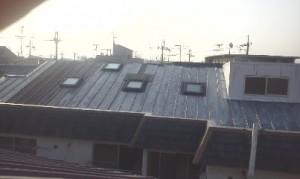 ロフトの暑さ対策のための遮熱塗料塗る前