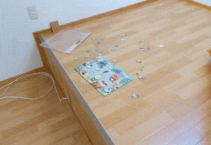 ロフトで遊ぶジグソーパズル