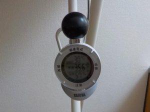 杉原土地のロフトはそんなに暑くない ロフトの温度35.6℃