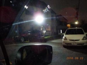 防犯システム 防犯カメラと防犯灯