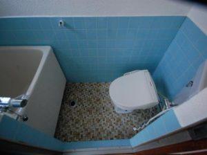 古民家風の防音室 バストイレ