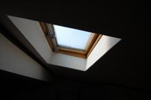 網戸のない天窓