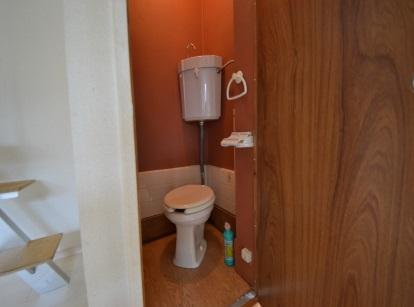 ロフト付きアパート トイレ